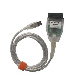 Mini Vci For Toyota Tis Techstream V10 00 028 Single Cable Software Version Tool