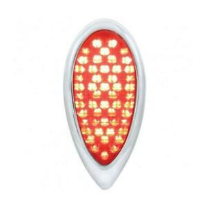 United Pacific 1938 1939 Ford Led Tail Light Red Lens Flush Mount Each Ftl383903