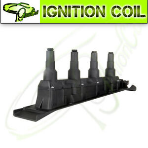 Direct New Ignition Coil Cassette Pack Black For Saab 9 3 9 5 Turbo 4 Cyl Uf577