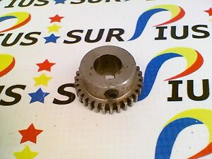Ussp Videojet Cheshire Tabber 216090 Spur Gear 30 Tooth 1 2 Inch Bore Keyed