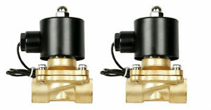 Air Suspension Valves Two Brass 3 8 npt Electric Solenoid