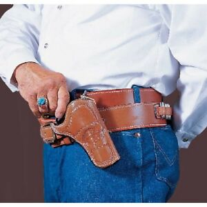 Desantis 083tc54z0 Tan Doc Holliday Cross Draw Western Belt Holster