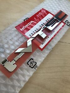 Genuine Jdm Chrome i vtec Emblem Oem Honda Ivtec Badge Logo New Stick On