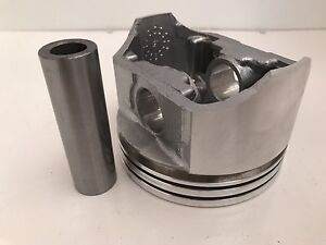 New Single Flat Top Piston 030 Size 350 Chevy Gm Sbc 4 030 Bore 67 95