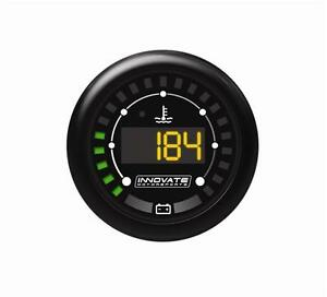 Innovate Mtx Digital Series Water Temperature Temp Battery Voltage Gauge 3853