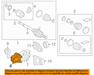 Toyota Rav4 Rear Differential Coupling Assembly 41303 42023