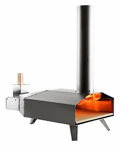 Uuni 3 Wood Pellet Pizza Oven W Stone Peel Stainless Steel free Shipping