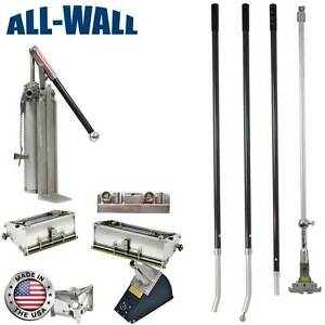 Drywall Master Pro Grade Finishing Set W 7 10 Boxes Pump Corner Tools More