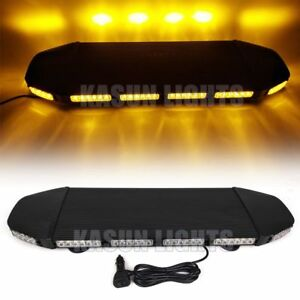 28 72 Led 216w Traffic Advisor Light Bar Warning Truck Tow Flash Strobe Amber