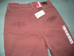 Womens LEE Classic Fit Straight Jeans Pants Size 8 Medium New