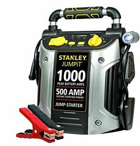 Stanley J509 1000 Amp Portable Booster Car Power Battery Charger Jump Starter