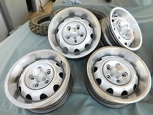 Nice Oem Original Vintage 70 Rally Wheels Dodge Chrysler Plymouth Mopar 14