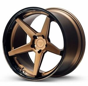 20 Ferrada Fr3 Gold 20x10 5 20x11 5 Concave Wheels For Chevy Camaro Ss 10 15