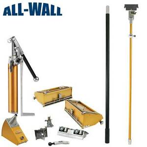 Tapetech Pro Value Drywall Finishing Set 10 12 Boxes Angle Box Head Pump