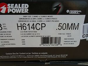Sealed Power H614cp 50mm Engine Piston Set 95 97 Ford Lincoln 4 6l 281 50mm