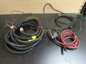 Used Meyer Snow Plow Touch Pad Wiring Harness With Battery Wires 15764