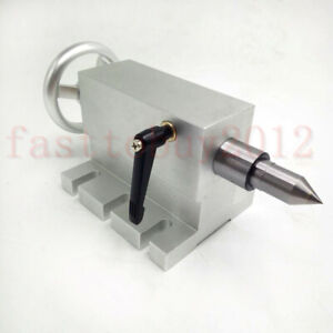 Tailstock With Mt2 Dead Center For Cnc Engraving 4th Axis Rotational Axis Parts