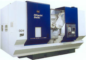 Hitachi Seiki Super Hicell 400 Cnc Lathe And Machining Center