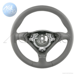 Oem Porsche 911 996 993 986 Boxter Steering Wheel Graphite Grey Nappa Leather