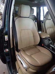 10 11 Range Rover Hse Right Front Seat Assembly Tan Black Tae