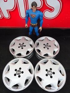 16 Volvo 960 Series Wheels Rims Oem Factory Stock Silver 95 96 97 70188 A