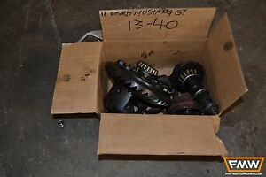 11 14 Mustang Gt 5 0 Coyote Rear End Chunk Posi Unit 8 8 3 15 Gears Differential