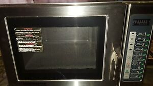 Industrial Microwave Brand Name Menumaster Commercial Bought New At 1500