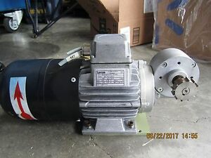 Lenze Dc Drive Motor With Gearbox