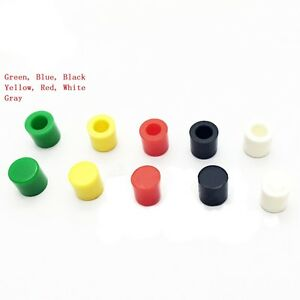 Tact Tactile Push Button Switch Cap Mutil color For 6x6 Series Switch Free P p