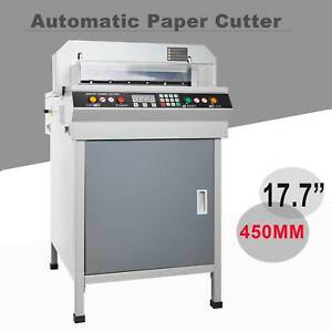 17 7 Automatic Cutting Machine Electric Paper Cutter Power off Protection 450mm