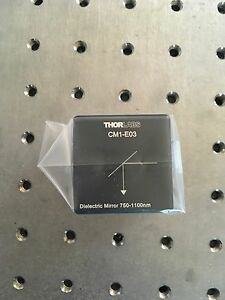 Thorlabs 30 Mm Cage Cube mounted Cm1 e03 Dielectric Turning Mirror 750 1100 Nm