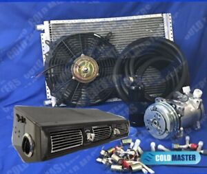 A c Kit Universal Under Dash Evaporator 450 Hd Kit Air Conditioner W side Vents