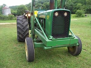 John Deere 4010 Industrial Tractor Rare Only 280 Made