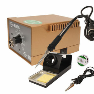 220v 936a Lead free Smd Desoldering Rework Soldering Station With Soldering Iron
