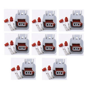 8pcs Ignition Coil Connector For Ford Cobra Mustang 4 6 5 4 6 8 W o Wire