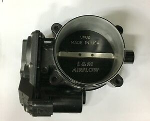 L m Airflow 82mm Throttle Body 11 13 Mustang Coyote 5 0 Lm82