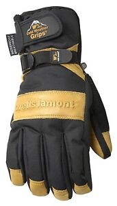 Wells Lamont Winter Gloves With Cowhide Leather Palm Insulated Ultimate Water