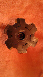 Sandvik Slot Milling Cutter R331 32 101r25km modified See Pic W inserts