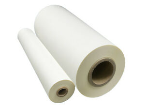 Matte Laminating Film Soft Touch 12 X 500ft 1 Core 30 Micron Offset Printing