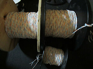 M27500 20rc3u00 Mil Spec Twisted 3 Conductor 20 Awg Wire 285ft Feet