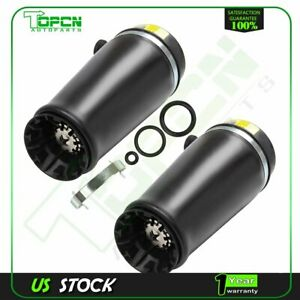 Rear Pair Air Suspension Springs Fits Ford Expedition Lincoln Navigator 97 2002
