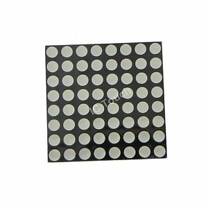 50pcs Dot Matrix Led Display 3 7mm 8x8 Red Common Anode 38x38mm 16 pin