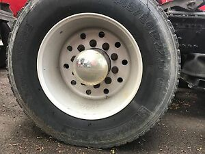 Alcoa 22 5 Aluminum Super Single Single S Wheel Used