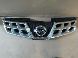 Oem With Emblem Nissan Rogue 11 12 13 Chrome Front Grille Grill E20 623101vk0a