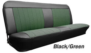 1967 1968 C10 Chevy Gmc Truck Houndstooth Bench Seat Cover