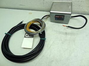 Custom Omega Thermocouple Assembly W Watlow Sd31 Temperature Controller new
