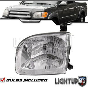 2000 2004 Toyota Tundra Sequoia Double Cab Left Driver Side Lh Headlight
