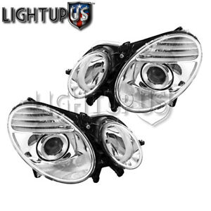 2007 2009 Mercedes Benz E280 E320 E350 E550 E63 Amg Left Right Pair Headlights