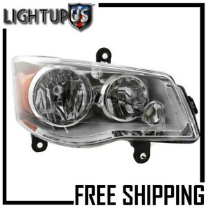 2008 16 Chrysler Town Country Dodge Grand Caravan Right Passenger Rh Headlight