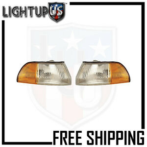 Fits 90 93 Acura Integra Signal Light lamp Pair left And Right Set
